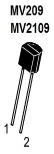 MV209 Varactor Diodes (For FM Radio)